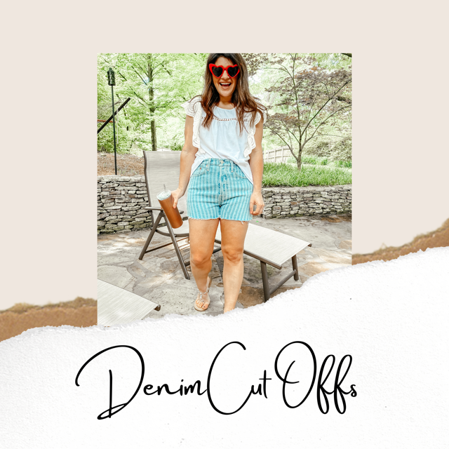 Let's Talk Denim Cut Offs
