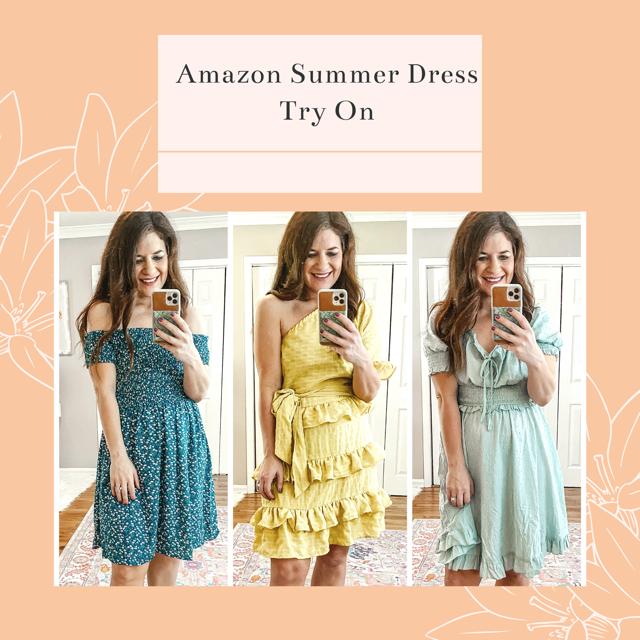 Amazon Summer Dress Try On