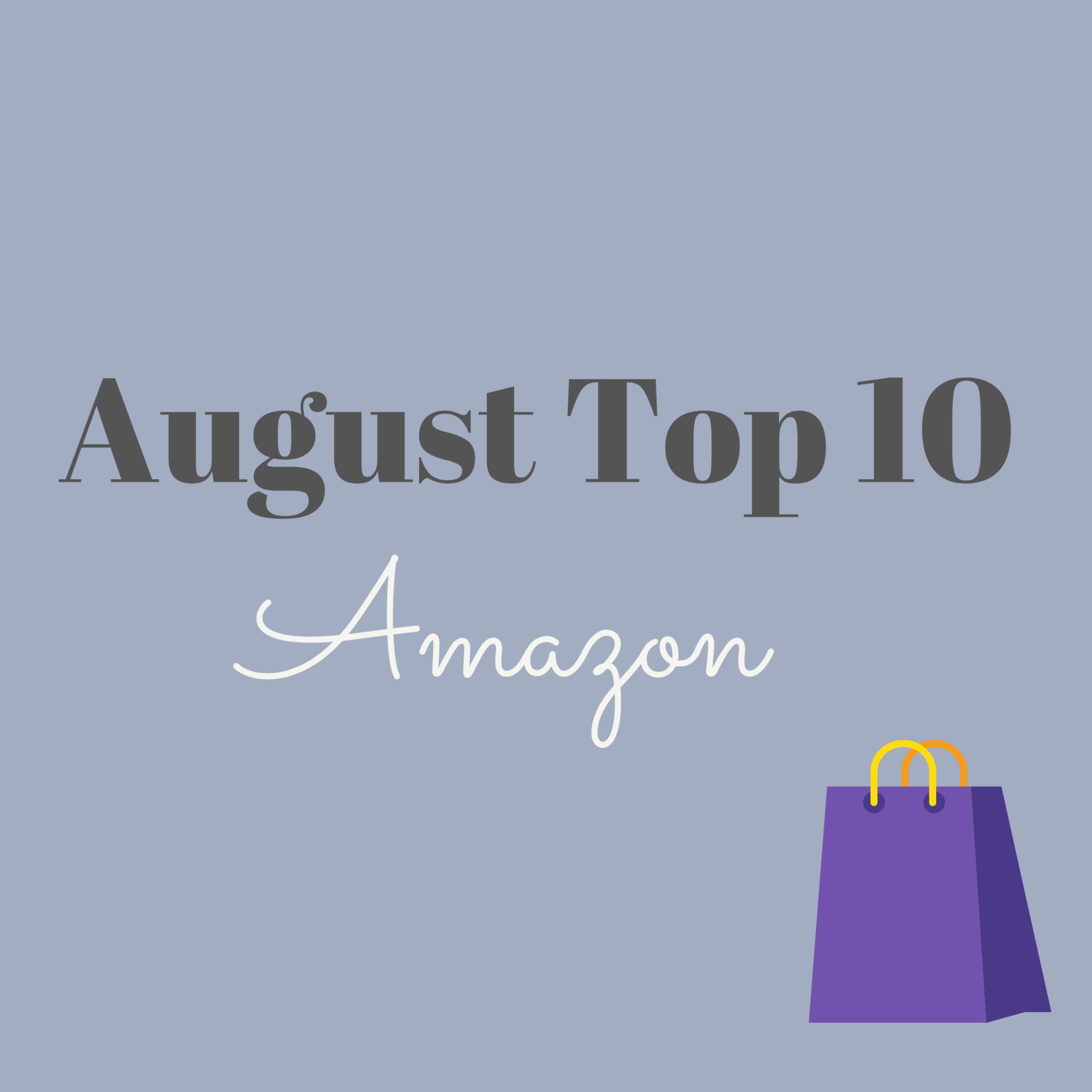 August Top 10 Sellers