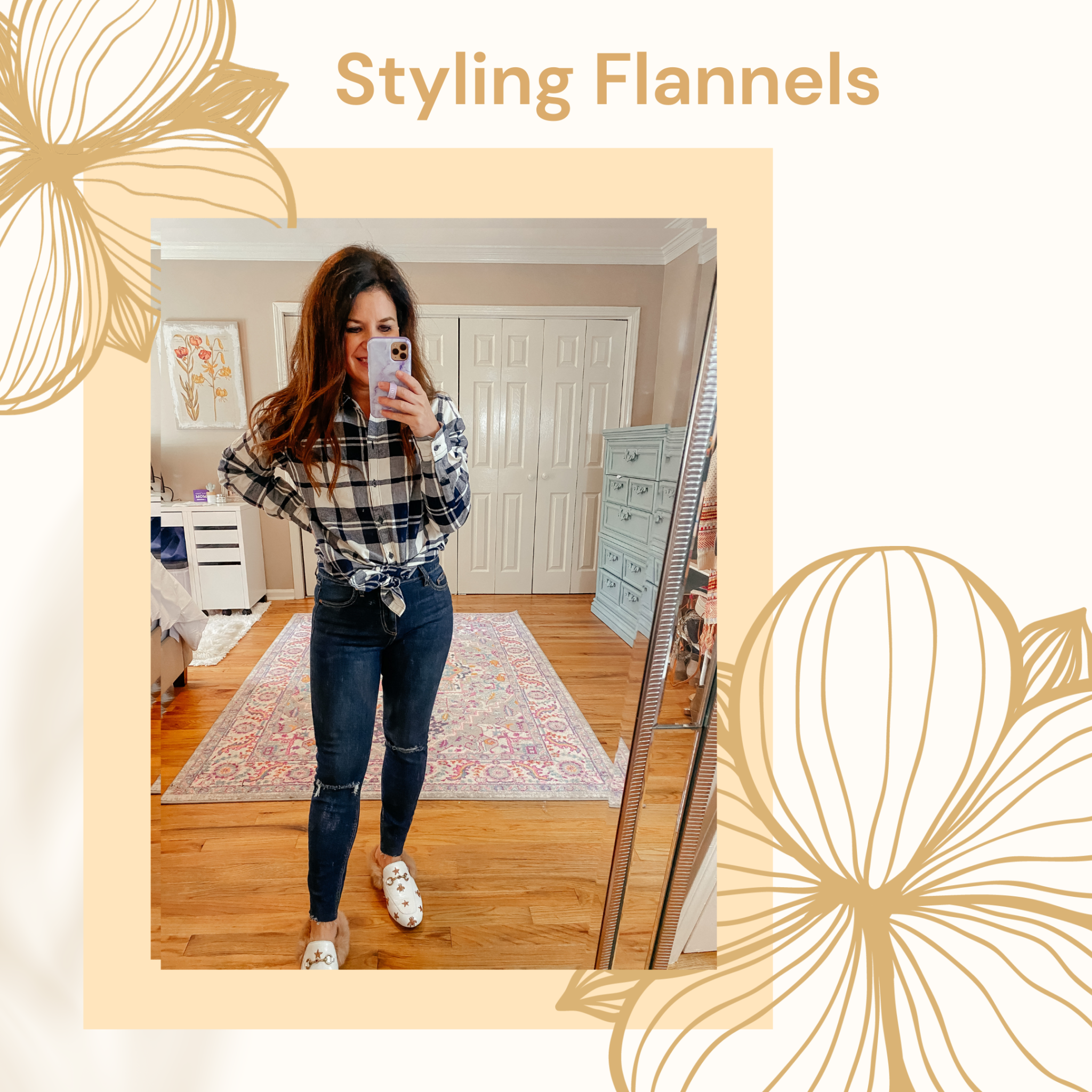 Styling a Flannel